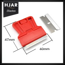 Heavy Duty Glass Safety Scraper with Razor Blade