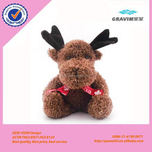 Custom Wholesale Plush Soft Christmas Deer