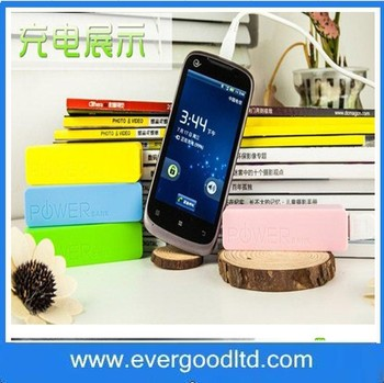 Manufacturer Wholesale Good Price 2600mah Solar Power Bank