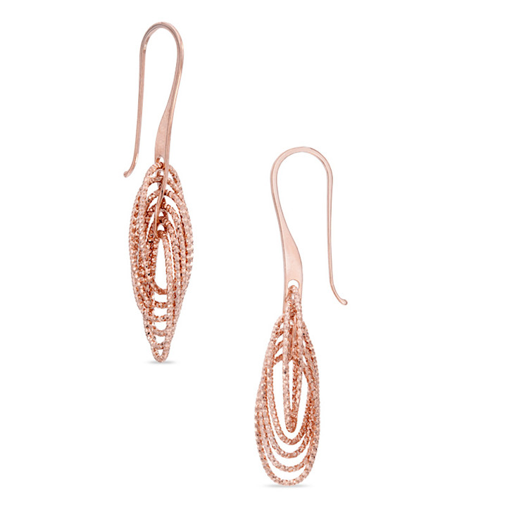 Cheap Price Wholesale Jewelry Rose Gold Earring Designs Earring Machine