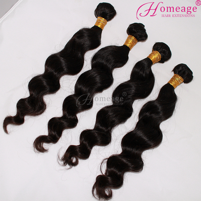 2016 New Arrival Top Quality Thick Ends Factory Wholesale Remy Virgin Human Hair Bundles Wavy Brazilian Wet And Wavy Hair