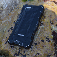 High quality waterproof black mobile phone case for iphone 5/5s/6/6plus/6s/6s plus