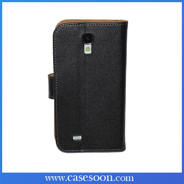 S4 Case,Top Quality PU Wallet Flip Leather Case for Samsung Galaxy S4 I9500 With Card Holder,High Quality