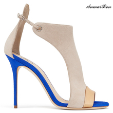 women lamarket new design high heels style shoes in sandals