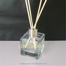 cube reed diffuser glass bottle 50ml with screw cap ZB775