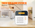 LCD Display Keypad Wireless GSM Alarm System with IOS&Android App Control L&L-X6