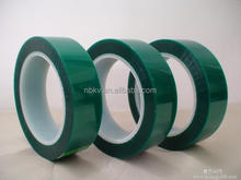High temperature Green 3D Printer Tape, Polyester with Silicone Adhesive Polyester Tape