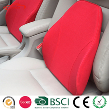 Cotton Fabric Lumbar Back Support Cushion, Lumbar Back Support Cushion for Car Driving, Car Lumbar Support