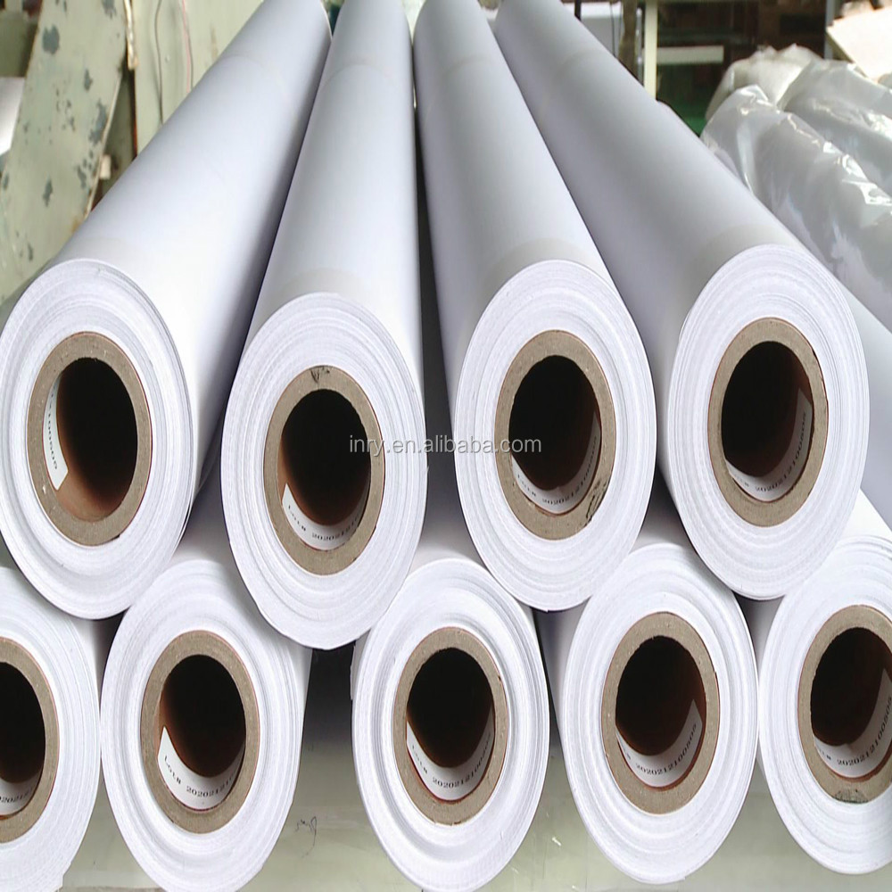 matte/semi/glossy polyester solvent white art stretch canvas