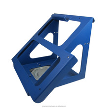 Taiwan made customized sheet metal fabrication parts blue powder coating