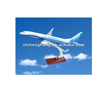 emulation exquisite B737-800 model planes for souvenir
