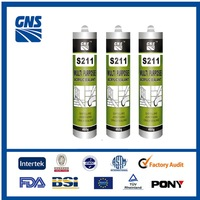 silicone bond fabric glass adhesive/sealant sealants