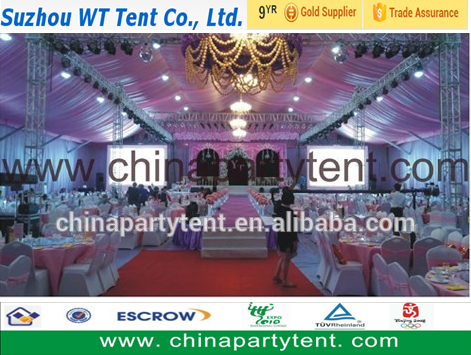 Luxury wedding halls decoration tent for events and parties, big tents for wedding