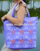 Fashion shopping trolley lady wholesale nonwoven bag