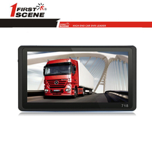"Firstscene 7"" Portable Wince 6.0 GPS Navigation with Free Update Truck Map Car GPS"