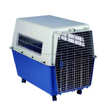 European market flight Pet Plastic Air Cage Transport Pet Carrier Plastic Pet Air Box