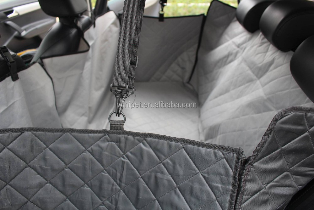 Waterproof Pet Accessories with PVC Non-slip Net car seat protector