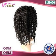 Best Quality Hot Selling Fashion Style Natural Color Kinky Curly Lace Front Wigs