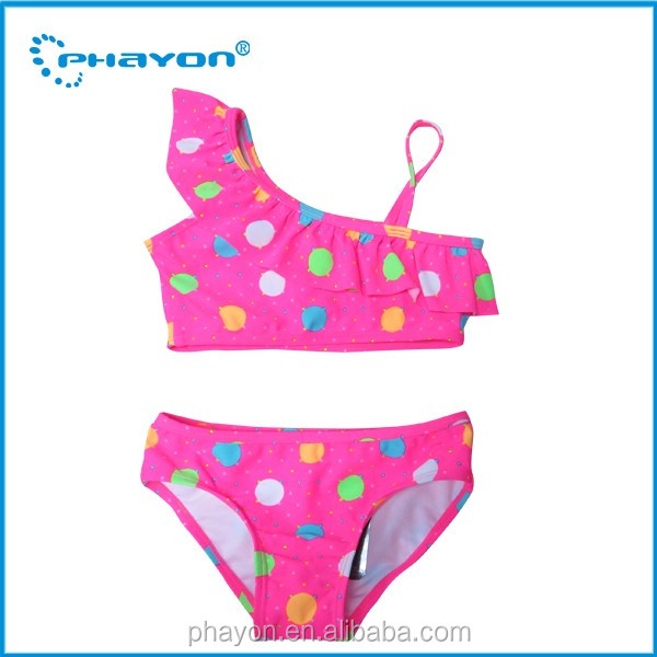 Custom High quality Bikini cute bikini kids swimwear