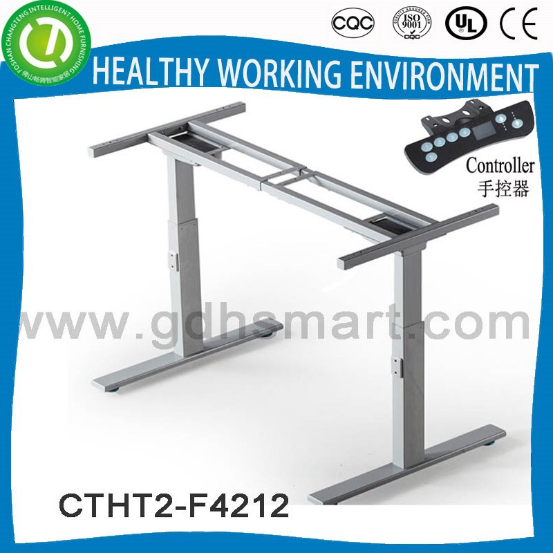 Sale to Cork spa reception table stand with electric height lifter & controlable lifting table base