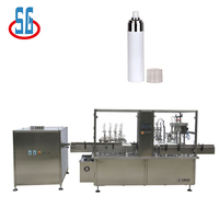 2017 New Production Automatic Aerosol Can Filling Sealing Machine