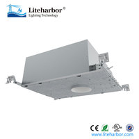 3.5 inch new construction us and Canada standard 12V led recessed light