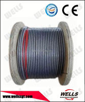 Rigging Hardware Coated PVC PE galvanized Steel Wire Rope