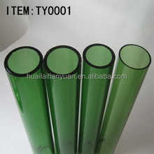 Wholesale high quantity heat resistantcolored borosilicate 3.3 heat-resistant glass tube supplier