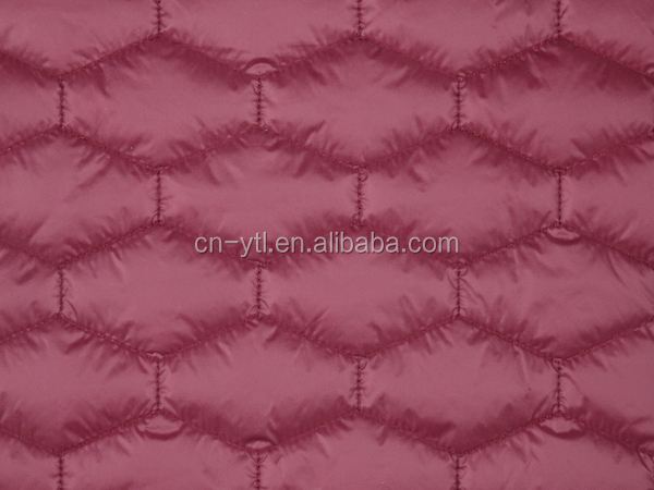 Wholesale Wadding Quilted Fabric for Jacket Coat