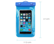 Free samples 100% waterproof outdoor equipment TPU PVC waterproof mobile phone case with ABS locker wheels