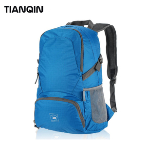 Lightweight Water-resistant Nylon Travel Hiking Daypack Durable Foldable Backpack