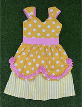 Hot sale beautiful baby girl child dress design for baby girl for daily wearing