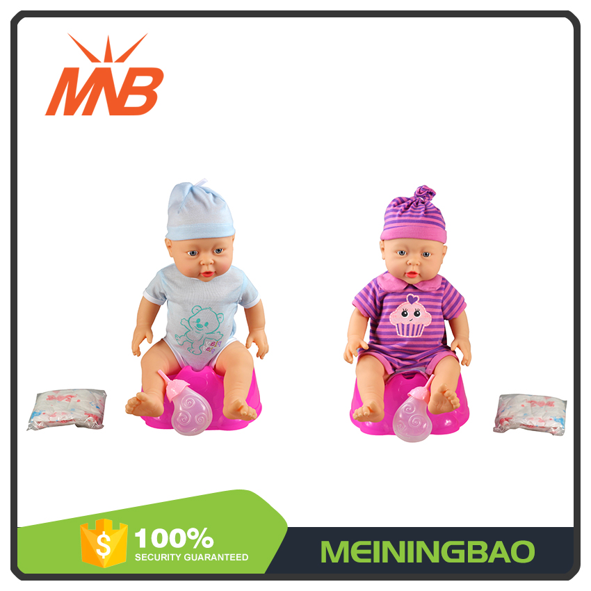 Shantou factory free soft reborn silicone baby dolls that drink milk for sale