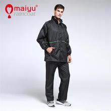 Superior polyester bicycle raincoat