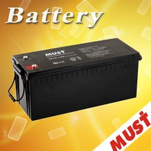 MUST price of lead acid battery UPS Battery 12V 100AH AGM Battery