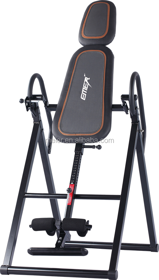2015 EMER hot sale new gravity inversion therapy table sports fitness equipment gym equipment china professional manufacturer