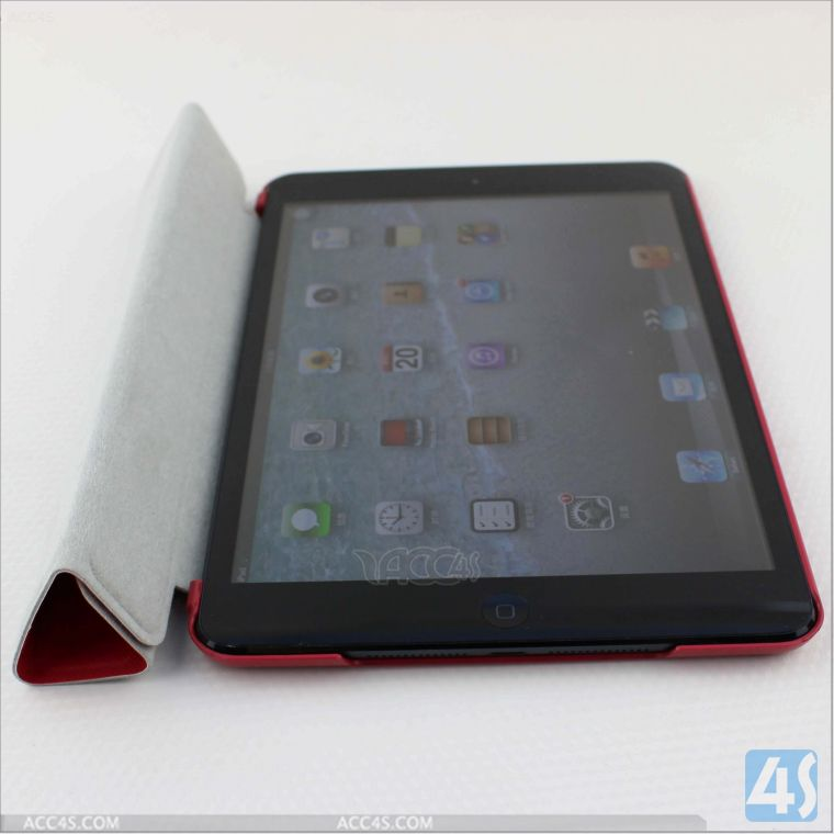 Premium Folio Case with Stand for Apple iPad Mini (Support Smart Cover Function) P-IPDMINIiiCASE013