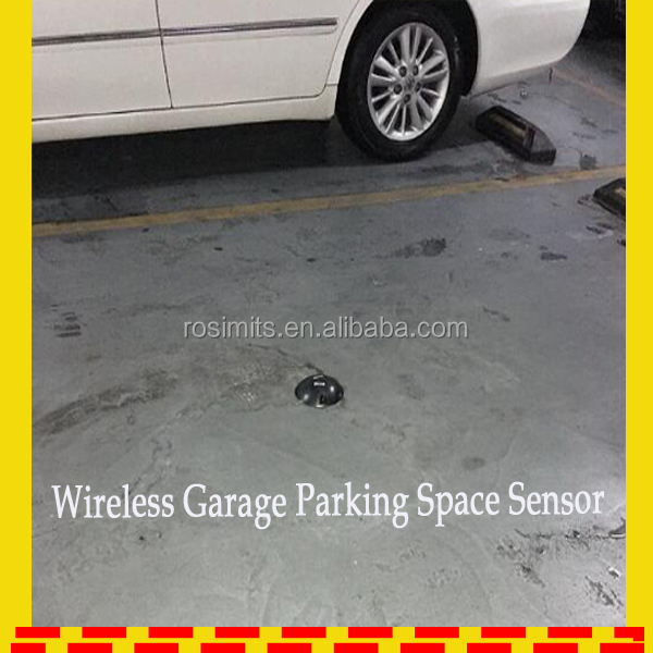 Latest Wireless Garage Parking Space Sensor Outdoor Parking Spot Sensor for Smart City Car Parking System