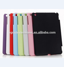 new clear plastic case solid color hard back cover case for iPad Mini /2