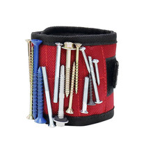 Powerful 6 Magnets Magnetic Wristband for Holding Tools