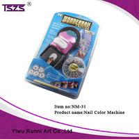 Hard Paper Card Packing Nail Color Manicure Pedicure Tool Nail Art Machine Printer