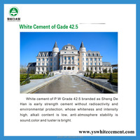 cheap white cement 42.5 for tiles