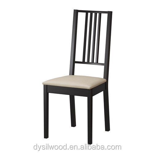 Nordic style wood frame wholesale dining chair