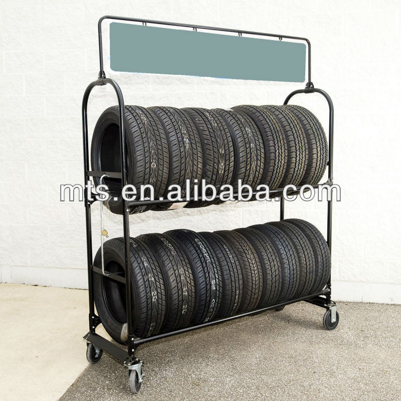 Rolling Tire Storage Rack >> Mobile Metal Tire Rack,Moving Tyre Storage Shelf - Buy Tire Display Rack,Truck Tyre Storage Rack ...