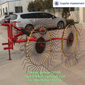 Tractor 3 point linkage straw collecting machine mini hay rake