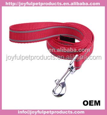 embroidered collars leashes for dog, nylon dog collars and leashes