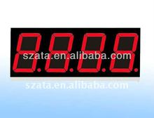 full color 4 digit led 7 segment numeric display screen shenzhen