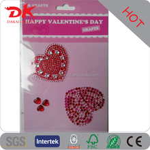 DIY Bling Bright Cheap Fashion cell phone rhinestone stickers