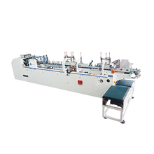 High Cost-Effective corrugated box folding and gluing machine for miniature blade box