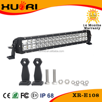Professional Manufacture led automotive light bar 12v 108w led off road light bar oslon -40~ 85 degree working temperature